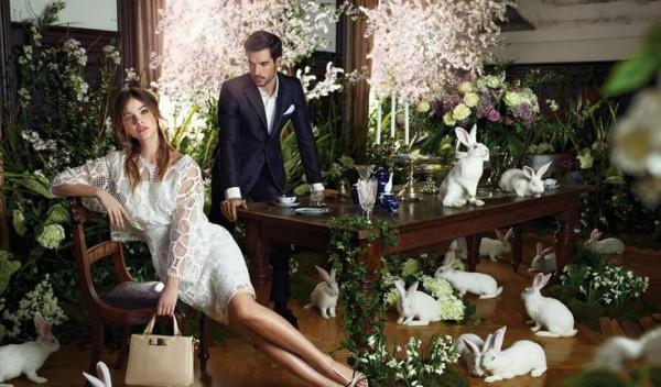 Amazing-Barbara-Palvin-for-the-Il-Bacio-di-Stile-Spring-Summer-2014-Campaign-2