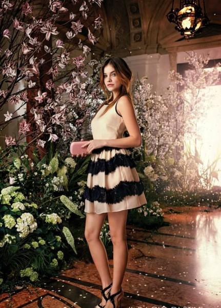 Amazing-Barbara-Palvin-for-the-Il-Bacio-di-Stile-Spring-Summer-2014-Campaign-3