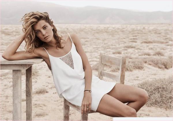 Daria-Werbowy-for-Mango's-Summer-Catalogue-2014-15