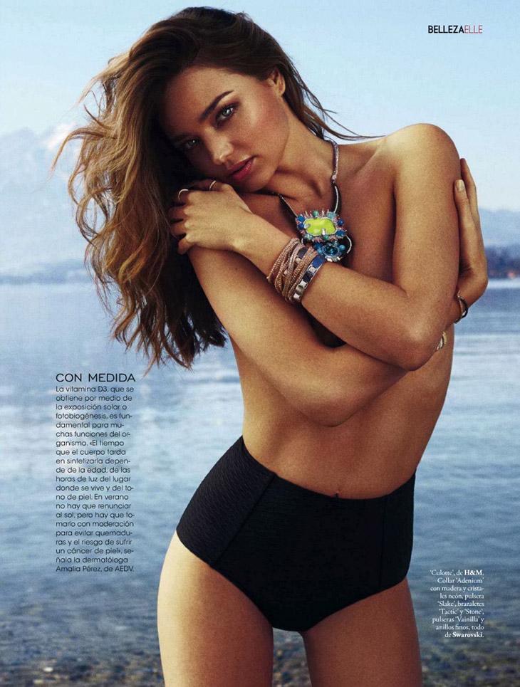 Miranda Kerr For Spanish Elle 2014 Women Daily Magazine