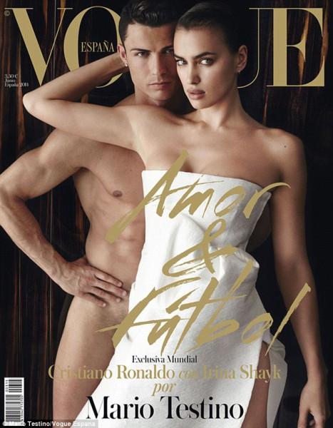 Cristiano-Ronaldo-poses-with-his-girlfriend-Irina-Shayk-for-Vogue-Spain-2014-1