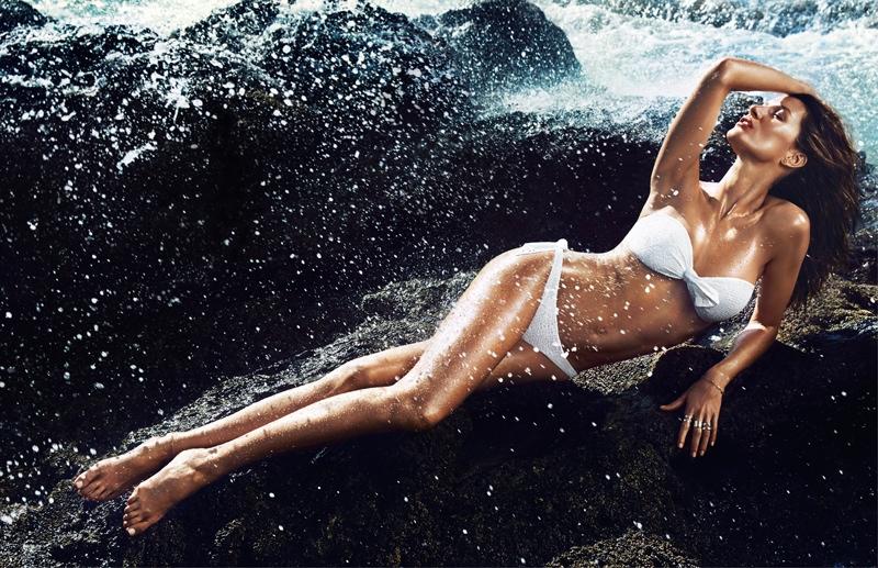 Gisele Bundchen for H&M Swimwear Ads 2014