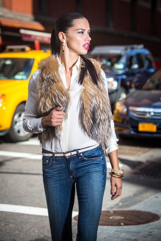 Adriana Lima Maybelline Photo Shoot