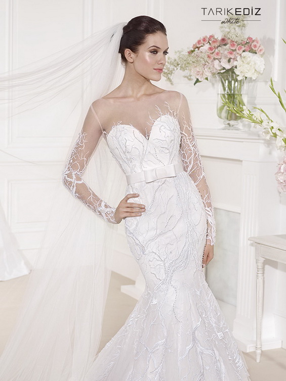 Wedding Dresses White Collection 2017 By Tarik Ediz
