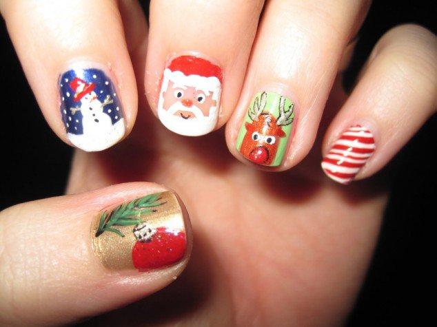 Christmas-Inspired-Nail-Art-10