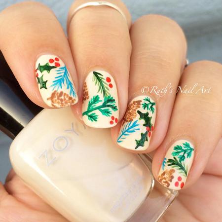 Christmas-Inspired-Nail-Art-2