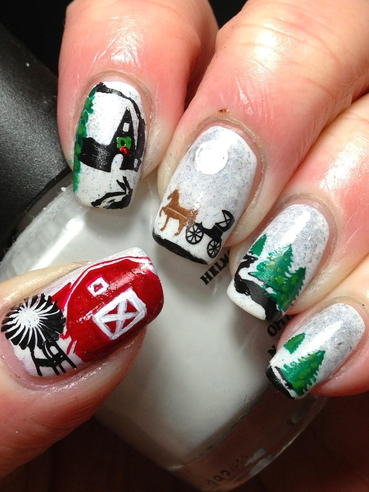 Christmas-Inspired-Nail-Art-6