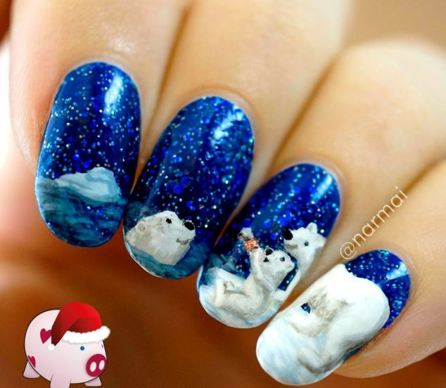 Christmas-Inspired-Nail-Art-8