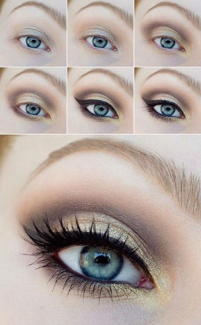 Brown Eye Makeup Tutorial: Brown Eyeshadow Tutorials For A More Seductive Look