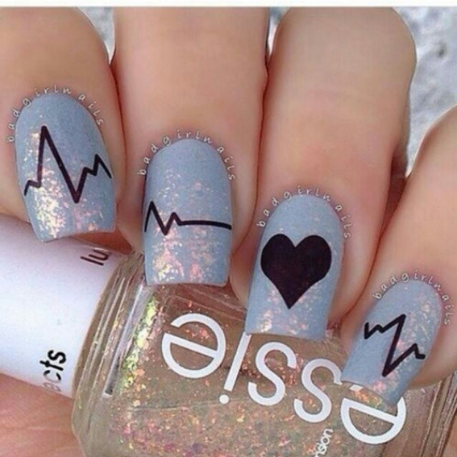 Schön Valentineu0027s Nails Inspiration 1