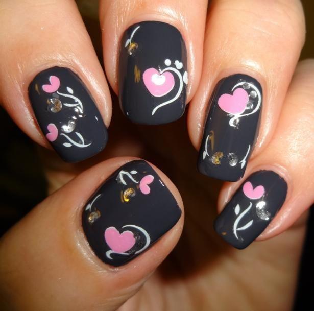 Valentineu0027s Nails Inspiration 5
