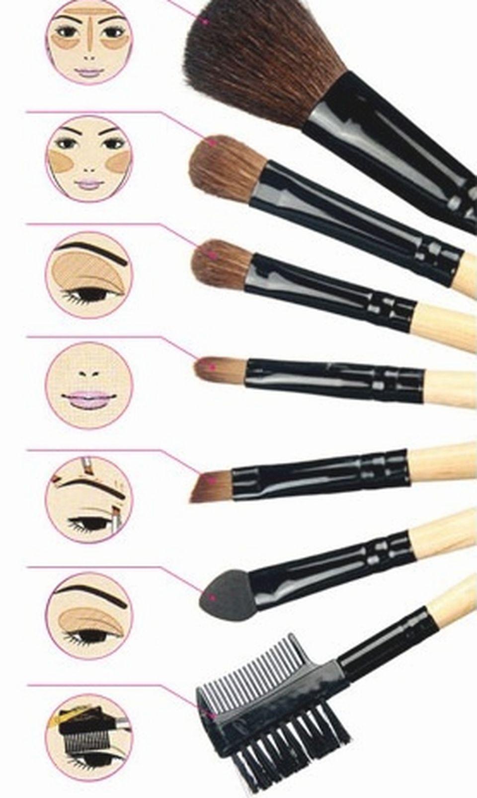 Какие инструменты нужны для макияжа
