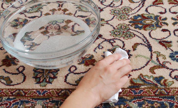 Чем постирать шерстяной ковер в домашних условиях 114