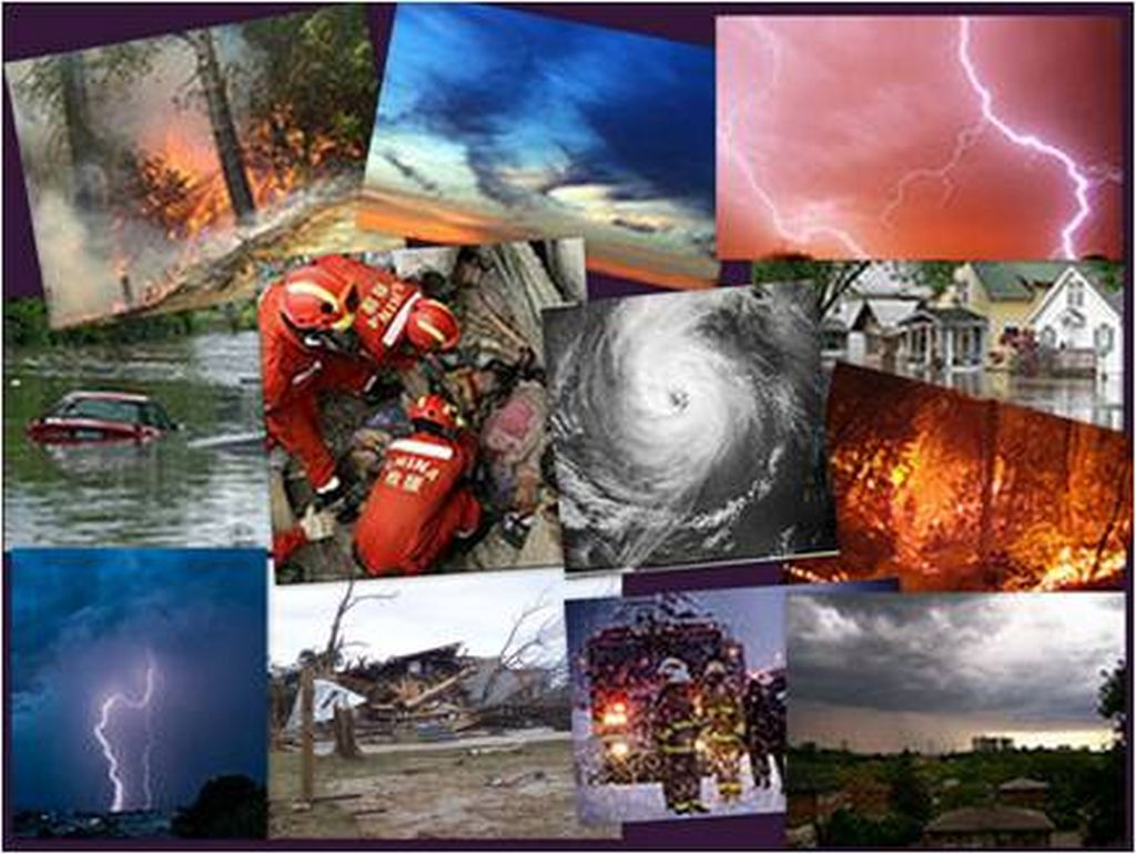 natural human caused disasters